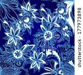seamless lower background | Shutterstock .eps vector #177973898