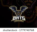 bat mascot sport logo design.... | Shutterstock .eps vector #1779740768