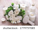 Bouquet Gardenia Flower With...