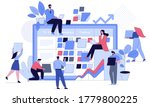 business people at project task ... | Shutterstock .eps vector #1779800225