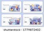 it education web banner or... | Shutterstock .eps vector #1779872402