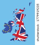 Brexit Concept  United Kingdom...