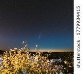 Europe. 18 July 2020. Comet...