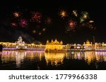 Golden Temple Amritsar Lit By...