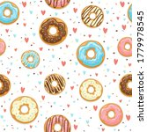 seamless background with glazed ...   Shutterstock .eps vector #1779978545