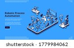 robotic process automation... | Shutterstock .eps vector #1779984062