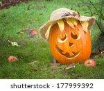 Cute Country Pumpkin Ready For...