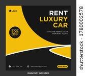 rent car for social media... | Shutterstock .eps vector #1780002578