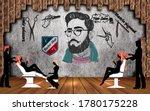 3d Wallpaper Barber Shop And...