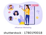 brand advocate making marketing ... | Shutterstock .eps vector #1780190018