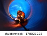 Pipe Welding On The Pipeline...