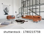 Loft Style Interior In House...