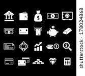 money icon   white | Shutterstock .eps vector #178024868