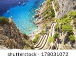 Via Krupp Capri  Italy