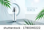 skincare serum in front of a... | Shutterstock .eps vector #1780340222