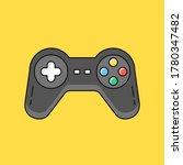 gamepad. joystick  game... | Shutterstock .eps vector #1780347482