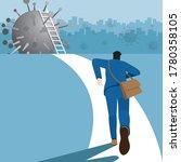 business concept. businessman... | Shutterstock .eps vector #1780358105