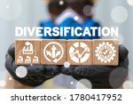Small photo of Diversification Industrial Concept. Diversify Industry Production. Manufacture Plant Variety.