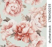 seamless floral pattern with... | Shutterstock . vector #1780430255