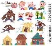 vector illustration of cartoon... | Shutterstock .eps vector #1780435538