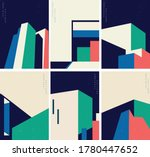 abstract architecture... | Shutterstock .eps vector #1780447652