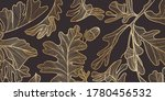 luxury gold and nature ... | Shutterstock .eps vector #1780456532