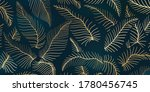 luxury gold and nature ... | Shutterstock .eps vector #1780456745