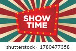 vintage circus background with...   Shutterstock .eps vector #1780477358