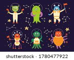 Monster Aliens In Space Suits....