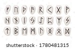 Old Runic Alphabet Or...