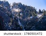 Bridalveil Falls Waterfall In...