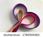 colorful bias tape on white... | Shutterstock . vector #1780504382