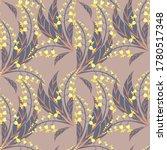 vector floral seamless pattern. ... | Shutterstock .eps vector #1780517348