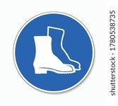 wear protective footwear. wear...   Shutterstock .eps vector #1780538735