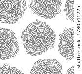 spaghetti pasta or oriental...   Shutterstock .eps vector #1780541225