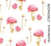 Pattern With Fly Agaric And...