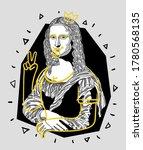 july 21  2020  crazy yellow... | Shutterstock .eps vector #1780568135