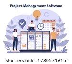 project management concept....   Shutterstock .eps vector #1780571615