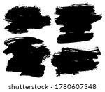 set of vector brush strokes....   Shutterstock .eps vector #1780607348