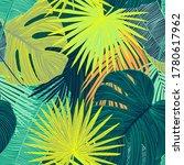 tropical luxury seamless...   Shutterstock .eps vector #1780617962