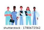 set of doctors characters....   Shutterstock .eps vector #1780672562