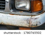 Colse Up To Decay And Rust On...