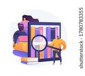 public library visitors.... | Shutterstock .eps vector #1780783355