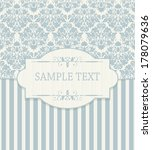 vintage background  antique... | Shutterstock .eps vector #178079636