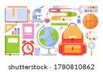 school tools vector... | Shutterstock .eps vector #1780810862