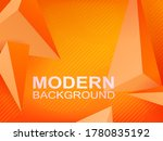 abstract geometric background... | Shutterstock .eps vector #1780835192