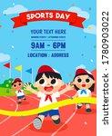 sports day poster invitation...   Shutterstock .eps vector #1780903022
