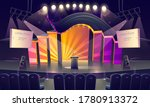 stage with tribune  bright... | Shutterstock .eps vector #1780913372