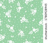 seamless pattern vintage floral.... | Shutterstock .eps vector #1780928945