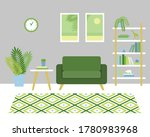stylish room interior with a...   Shutterstock .eps vector #1780983968
